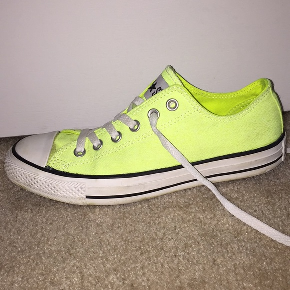 9bebdac937fdb ... chuck taylor all star washed neon orange shoes a5c70 e5b2d sale neon  yellow converse all star sneakers e5bc0 a3222 ...
